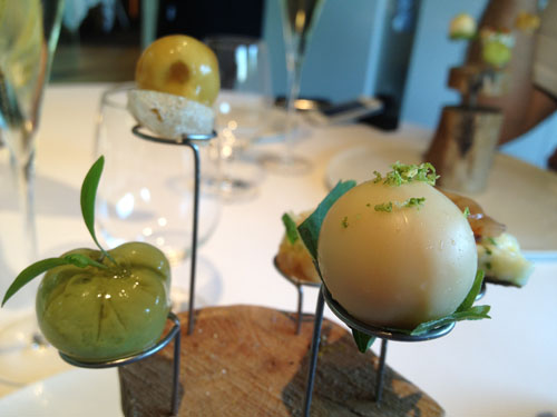 el celler di can roca amuse bouche