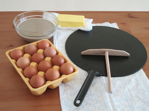le creuset crepes pan