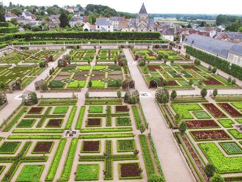 gardens of chateau villandry loire valley france_Snapseed
