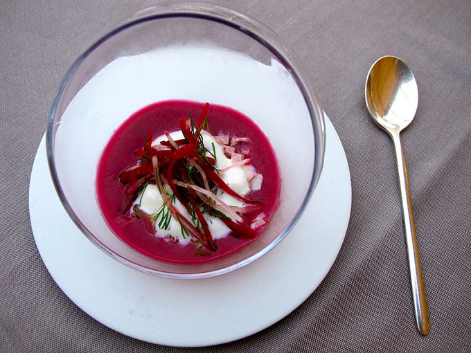 les puits st jacques 2 star michelin france beetroot