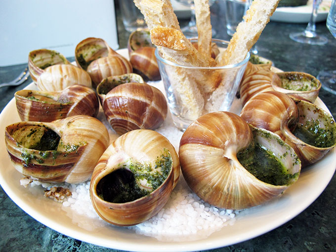 eclectic paris escargots
