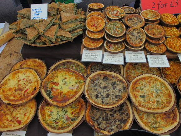 broadway market quiches london