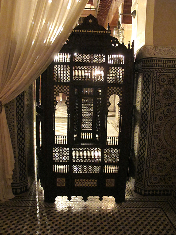 royal monceau marrakech moorish details