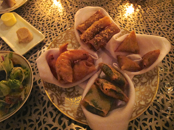 royal monceau moroccan food
